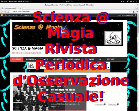Scienza @ Magia - Rivista Periodica d'Osservazione Casuale!