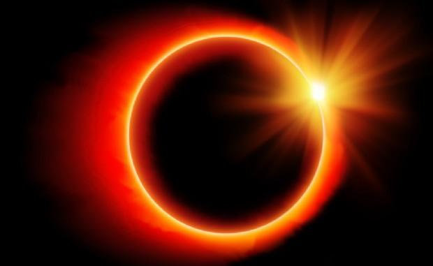 Eclissi totale di sole l'8 marzo