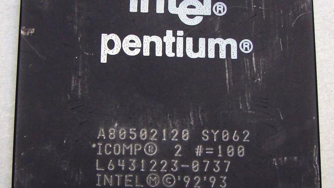 Analizzando i vecchi Microprocessori 32/64bit