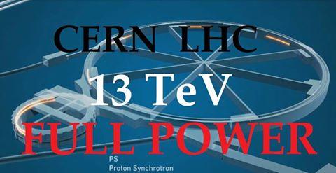 LA RICERCA CON IL COLLISORE LHC ALLA ENERGIA DEI 13 TeV