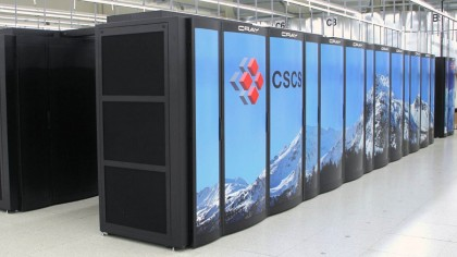 Il supercomputer svizzero Piz Daint