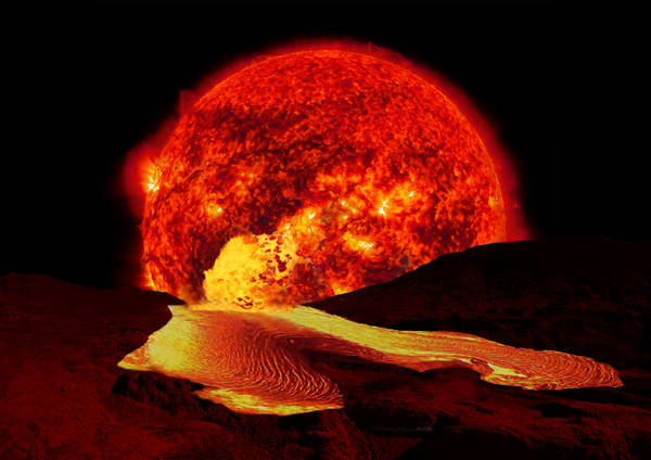 Il Sole anziano 'sposterà' la vita oltre la Terra