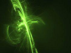 Lampi di luce verde contro l'emicrania