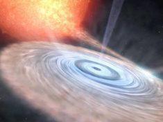 Si risveglia un buco nero vicino di casa della Terra