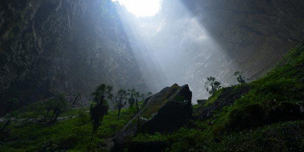 La voragine misteriosa che nasconde un meraviglioso ecosistema