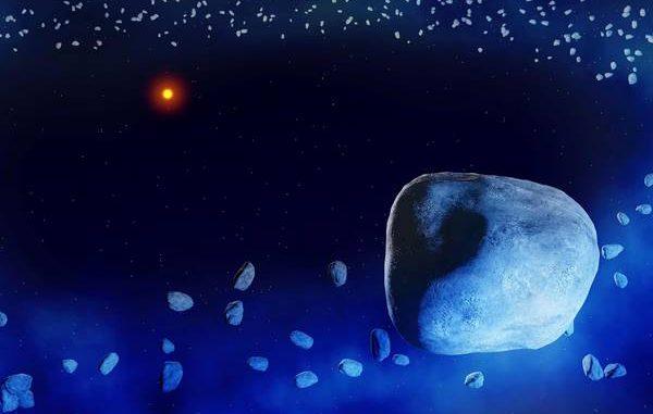 Girotondo di comete intorno a un giovane sole