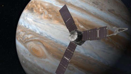 Giunone e Giove, appuntamento nello spazio per svelare i segreti del pianeta