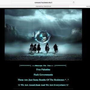 Attacco hacker ai siti di tre comuni del modenese