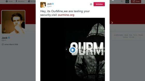 Ourmine, tocca a Dorsey: hacker contro il CEO di Twitter