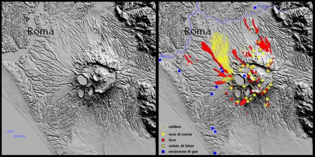 """Roma, il super vulcano dei Colli Albani si sta risvegliando: """"potenziale distruttivo come il Vesuvio"""""""