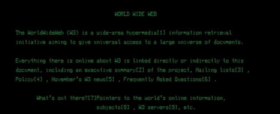 25 anni fa il primo sito web: così è iniziata la rivoluzione digitale