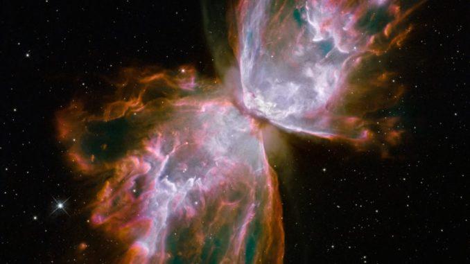 La nebulosa Farfalla (foto Nasa/Esa/Hubble Sm4 Ero Team)