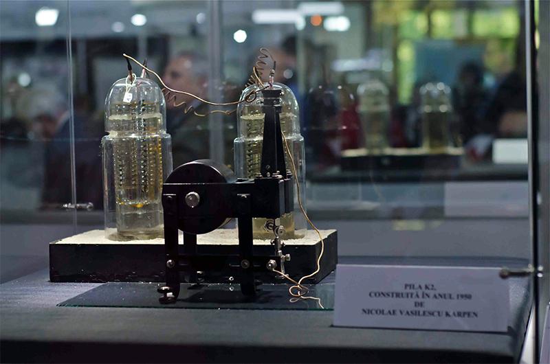 La Pila di Karpen custodita in un museo della Romania