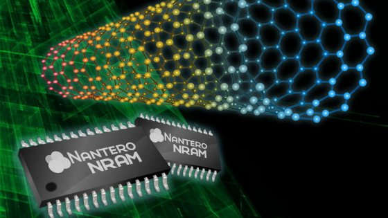 NRAM, la memoria più veloce che non si cancella