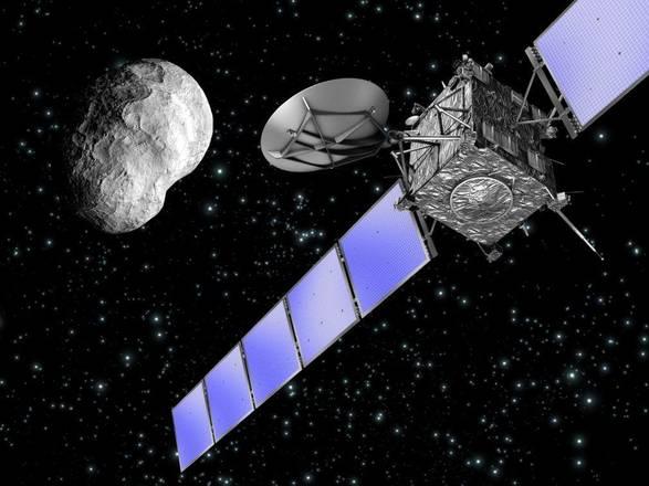 Rosetta, la discesa sulla cometa dall'alto