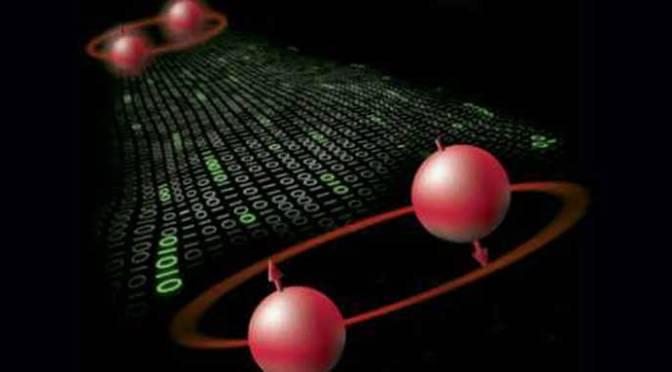 Un esperimento di entanglement quantistico per lo studio dello spaziotempo