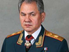 Il ministro della Difesa russo, il generale di corpo d'armata Sergej Kužugetovic Šojgu
