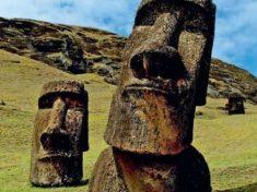 I Moai dell'Isola di Pasqua hanno il Corpo