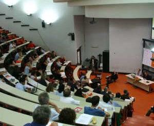 L'Aula Rossa dell'Università di Trento