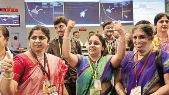 Tre scienziate indiane alla conquista dello spazio