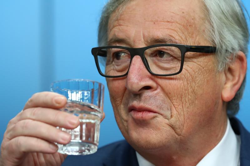 Il presidente della Commissione europea Jean-Claude Juncker. Xinhua/Avalon / AGF