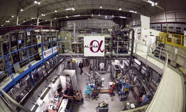 L'esperimento ALPHA, dove si è riusciti a intrappolare atomi di anti-idrogeno.|MAXIMILIEN BRICE / CERN