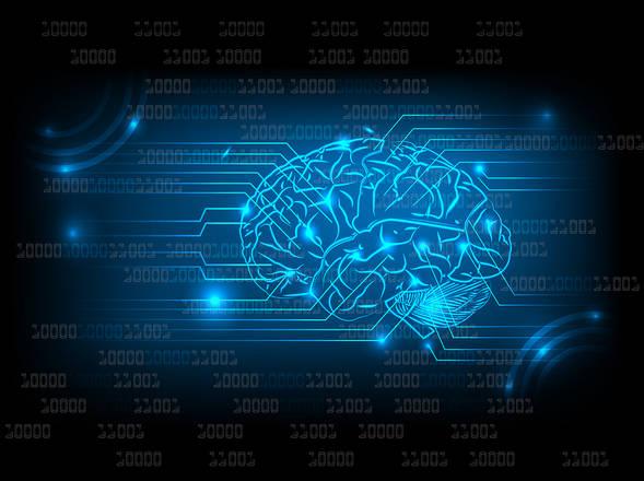 Il computer 'legge nel pensiero' e lo traduce in testo, grazie a una speciale interfaccia che in futuro potrebbe aiutare le persone che non riescono a parlare a causa di malattie (fonte: Srividya Sundaresan, Frontiers Science Writer)