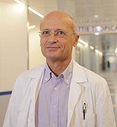 Zeno Bisoffi, direttore del Centro di Malattie Tropicali dell'Ospedale di Negrar