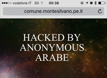 Attacco hacker arabi ai siti di 4 Comuni dell'Abruzzo