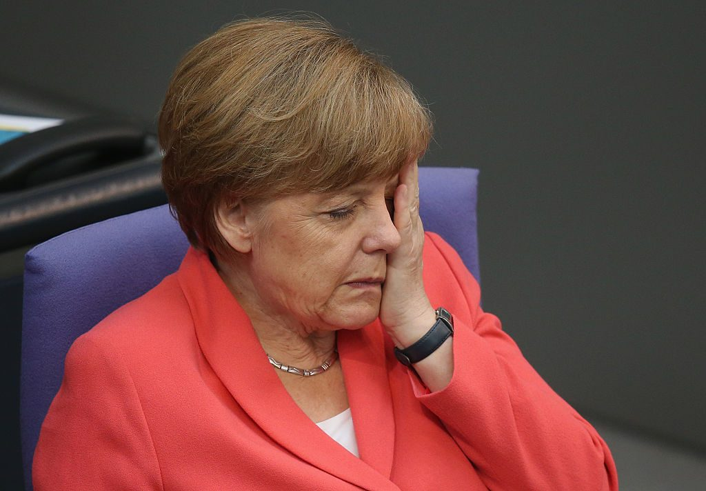 Angela Merkel. Sean Gallup/Getty Images