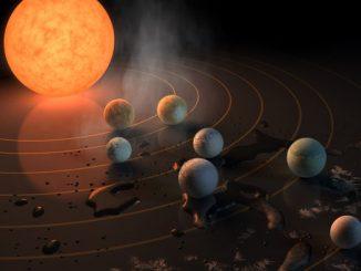 """Le sette """"sorelle"""" gemelle della Terra, scoperto un nuovo sistema planetario"""