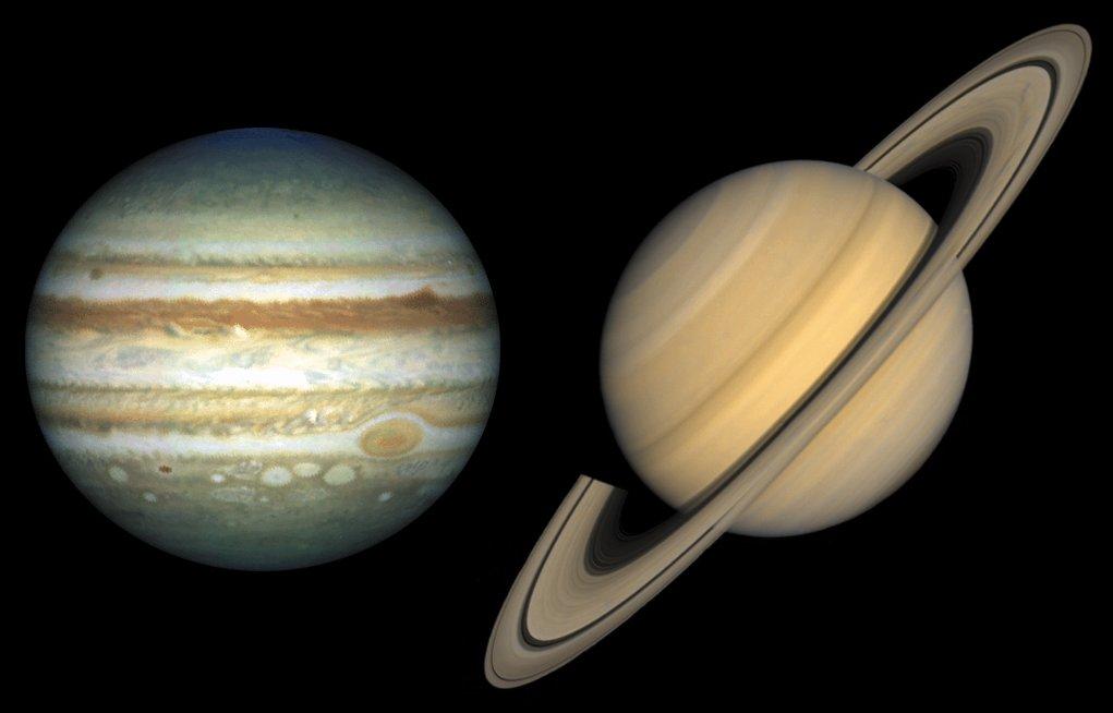Come Giove e Saturno proteggono il sistema solare dagli asteroidi