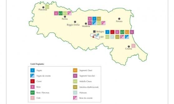 In Emilia-Romagna cresce il numero dei trapianti: +24%