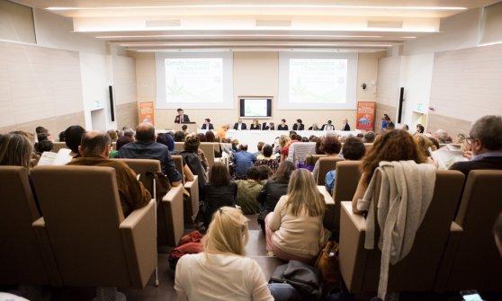 Il convegno di Amrer (foto Maria Novella De Luca)