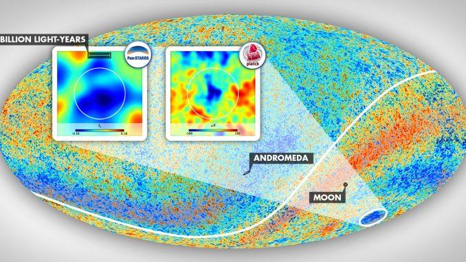 Osservata una Cold Spot, è possible che vi siano più Universi?