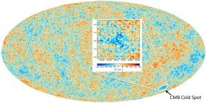 cosmologia, big bang, universo, multiverso, cold spot, radiazione cosmica di fondo