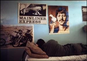 Vietnam, 1971. Un soldato statunitense in un centro di primo soccorso per le tossicodipendenze. | BRUNO BARBEY/CONTRASTO