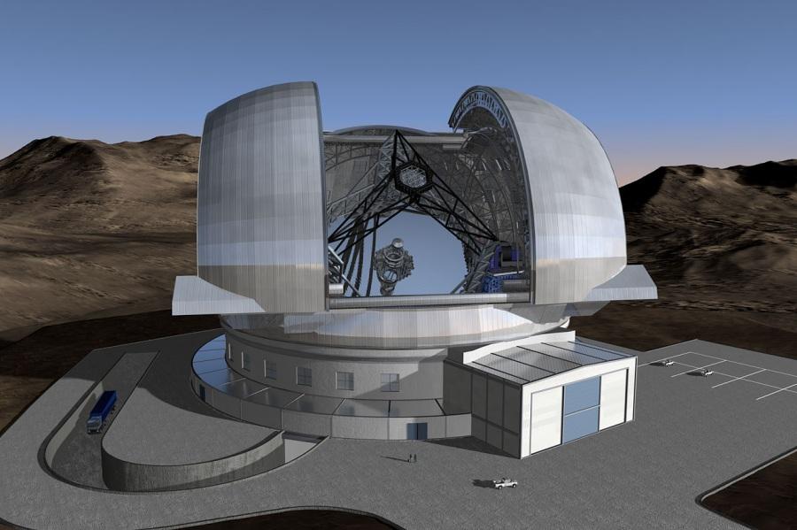 L'E-Elt: il più grande e preciso telescopio del mondo in Cile