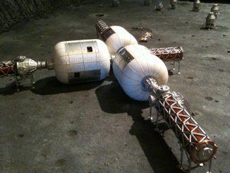 Andremo su Marte in campeggio con una tenda gonfiabile