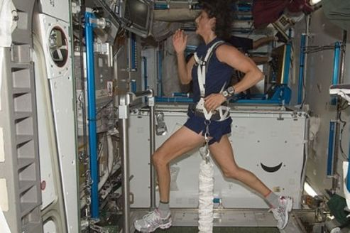 La microgravità riduce l'ossigeno e le capacità sportive nello spazio