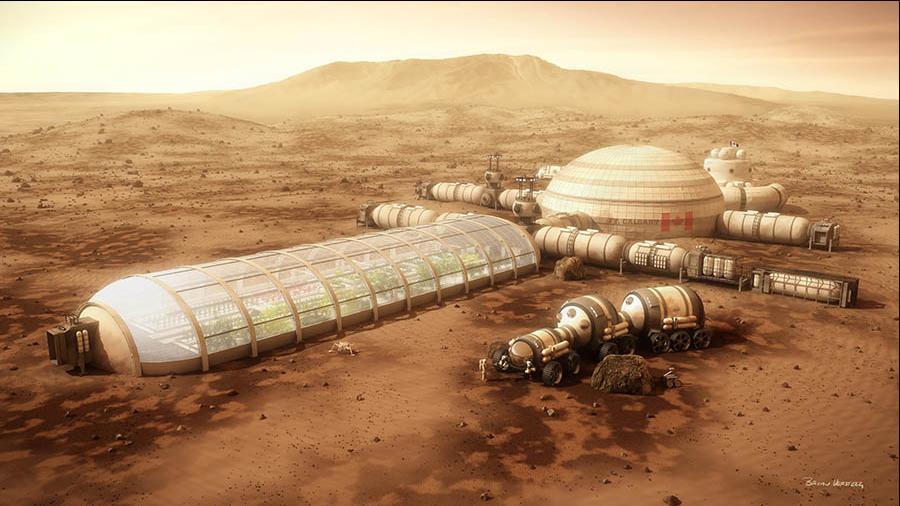 Si allontana il progetto di una base spaziale su Marte