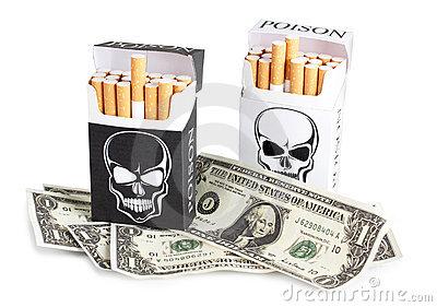 Quella dannata abitudine mortale di fumare