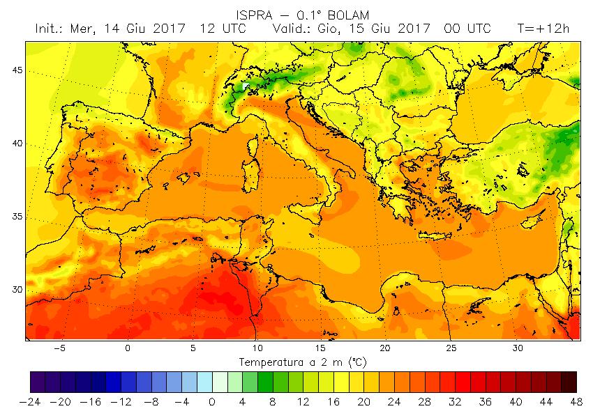 Aumenta la temperatura media globale: è allarme siccità.