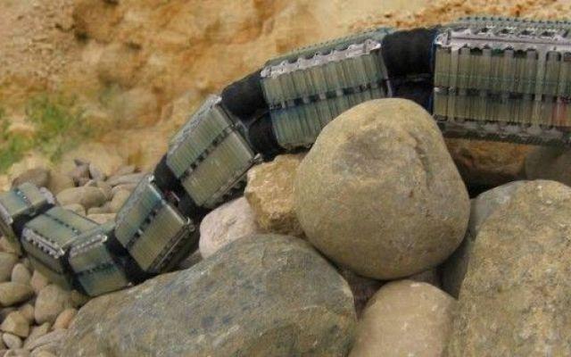 Robot rover sinuosi come serpenti per l'esplorazione di Marte