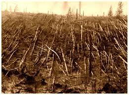Nel 1908 un asteroide vaporizzò 2.000 chilometri quadrati di foresta siberiana.