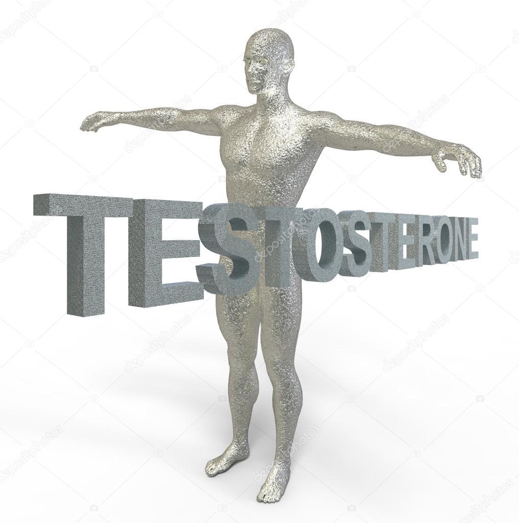 L'ormone maschile fluttua ma non è un ciclo ormonale