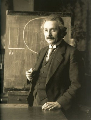 Albert Einstein in uno scatto del 1921. | WIKIMEDIA COMMONS