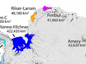 In arrivo il super iceberg che si distaccherà da Larsen C
