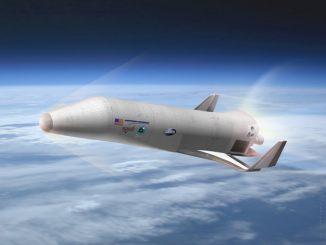 Il nuovo spazioplano con il motore modificato dello Shuttle