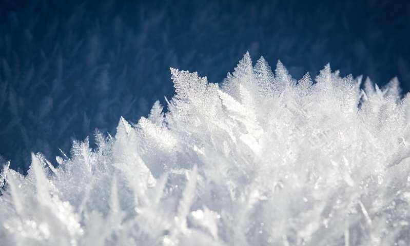 Creato il ghiaccio VII, una particolare forma di ghiaccio cristallina
